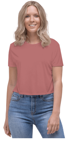 Lässiges Damen-Crop-Top 2