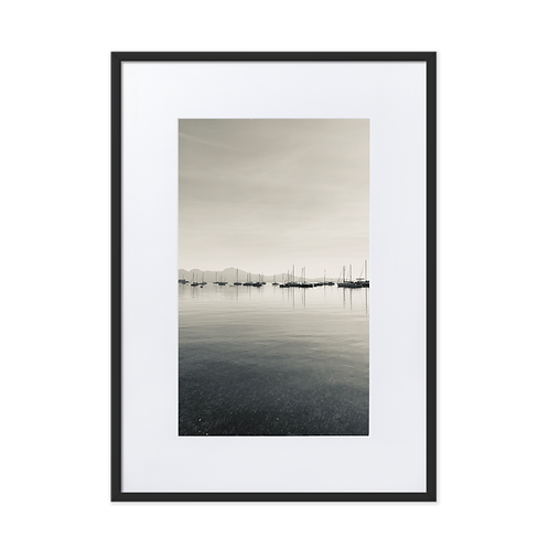 Yacht Party Matte Paper Framed Posters