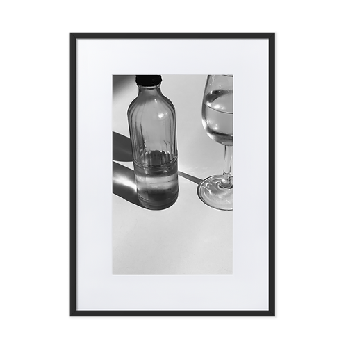 Take a Break Matte Paper Framed Poster