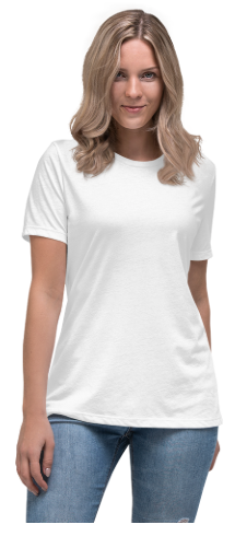 Lockeres Damen-T-Shirt | Bella + Canvas