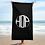 Thumbnail: HAUS OF PASSION Big Logo Black Towel