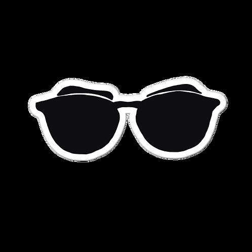 Sunglasses Bubble-free stickers