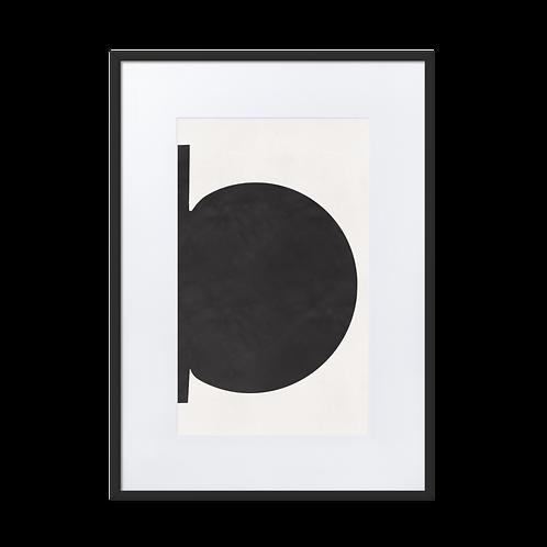 Minimalism Matte Paper Framed Illustration Poster