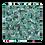 Thumbnail: Green Floral Premium Pillow Case