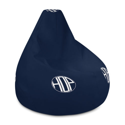 Club Thalassophile Bean Bag Chair w/ filling Navy