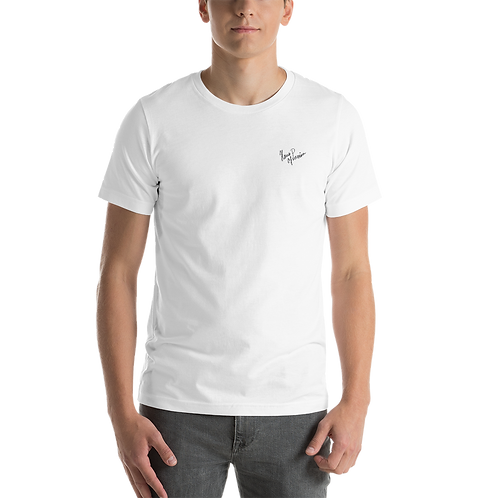HAUS OF PASSION Handwritten Short-Sleeve Unisex T-Shirt