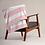 Thumbnail: HOP Fluffy Blanket Light Pink/White