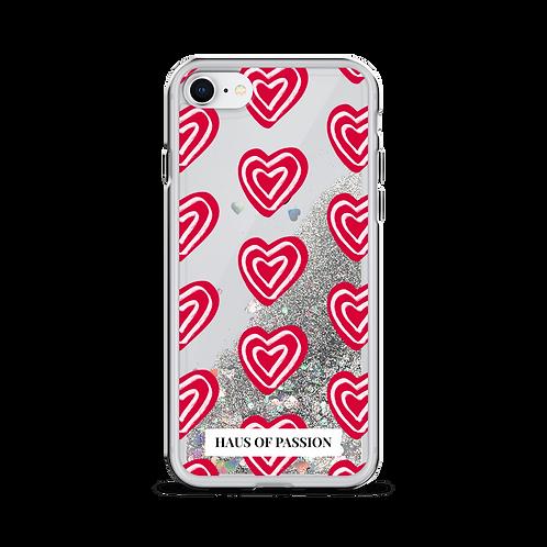 Lots of Love Liquid Glitter Phone Case