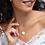 Thumbnail: SOL Engraved Silver Hexagon Necklace