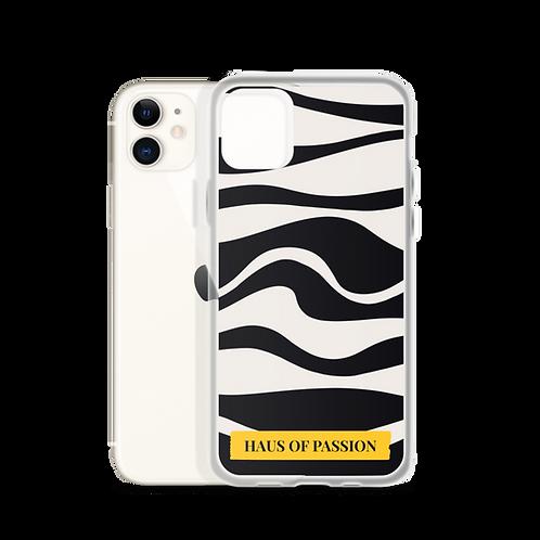 Black Waves iPhone Case