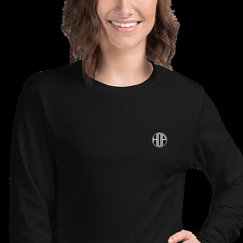 HOP Logo Unisex Long Sleeve Tee Black
