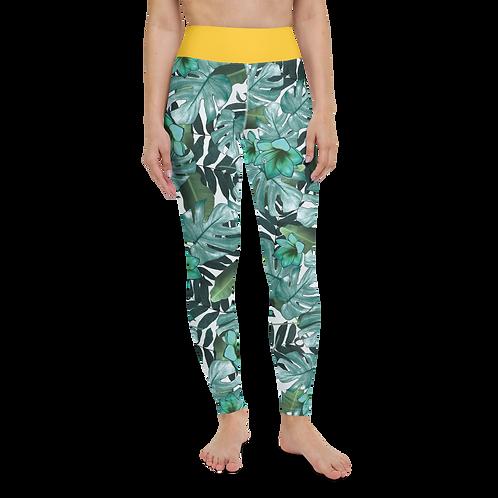 City Jungle Yoga Leggings