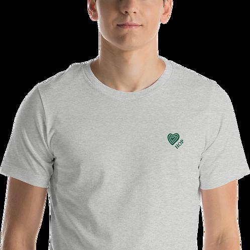 Green Love HOP HAUS OF PASSION Unisex T-Shirt
