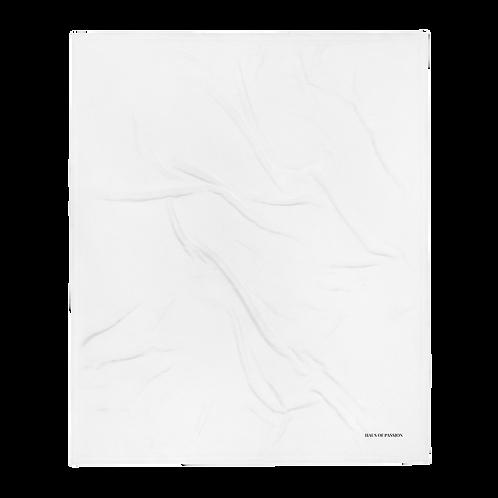 White Uni Throw Blanket