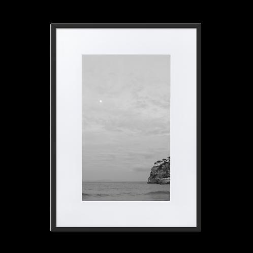 Moon Goddess Matte Paper Framed Poster