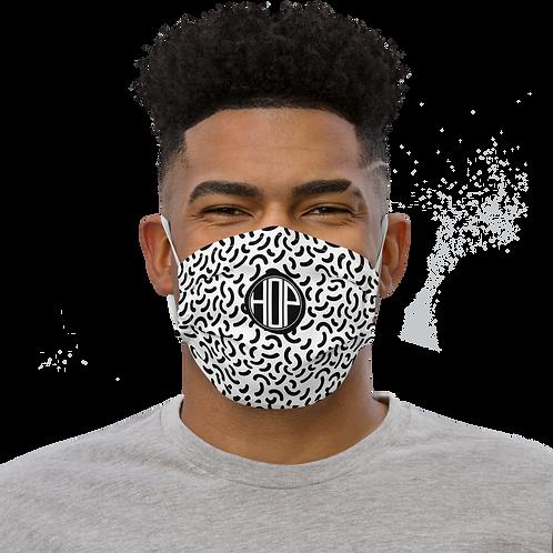 Crescent Shapes Face mask