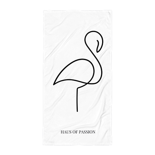 Flamingo Towel