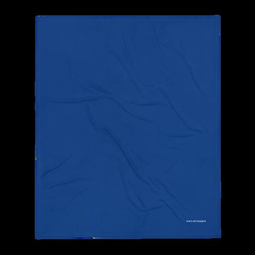 Royal Blue Throw Blanket