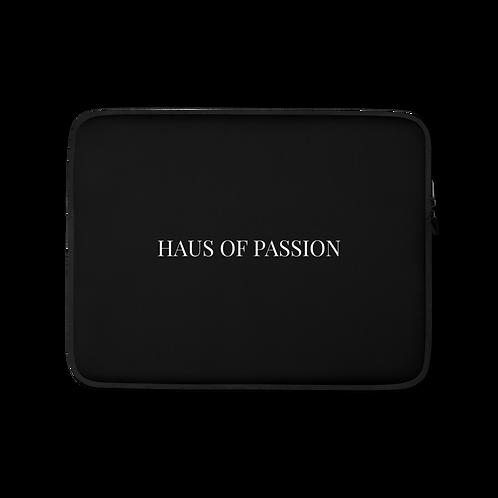 HAUS OF PASSION Classic Laptop Sleeve Black