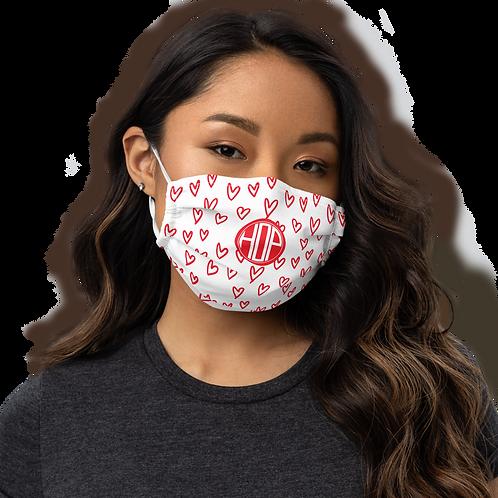 Hearts Face mask