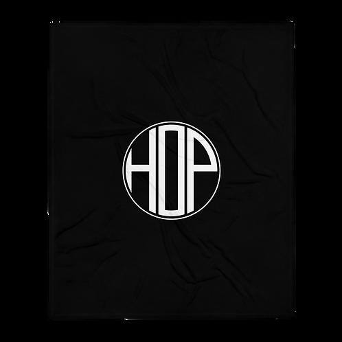 HAUS OF PASSION Throw Blanket Black