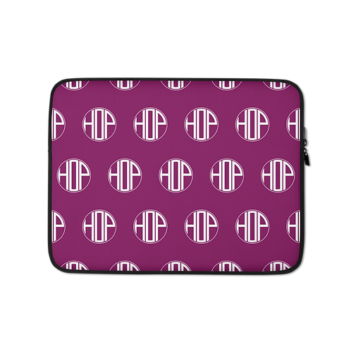 Violet Laptop Sleeve HAUS OF PASSION