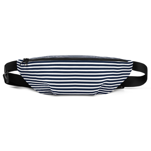 Club Thalassophile Navy/White Fanny Pack