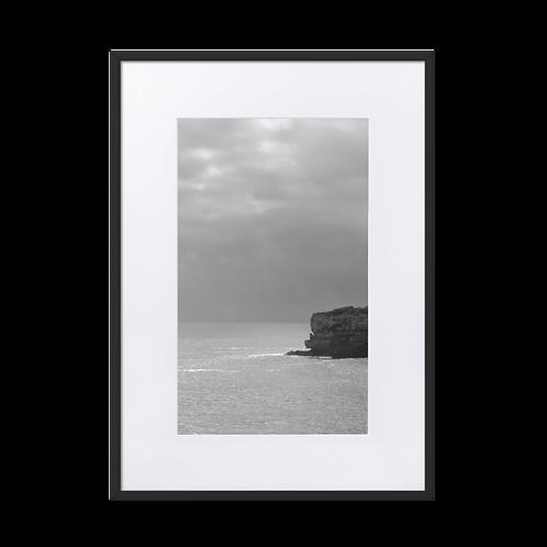 Sunrays Matte Paper Framed Poster