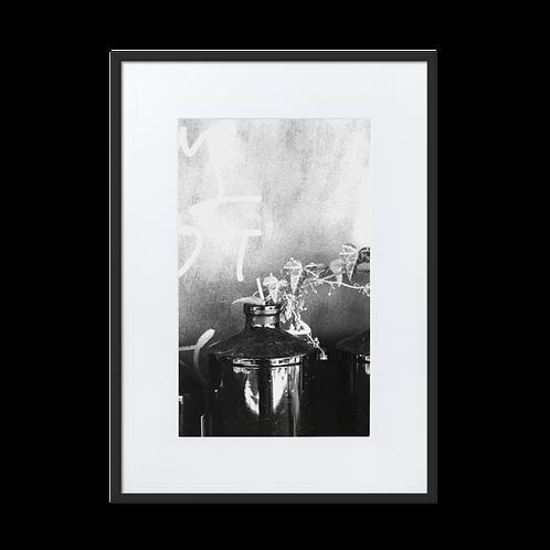 Living La Vida Matte Paper Framed Poster