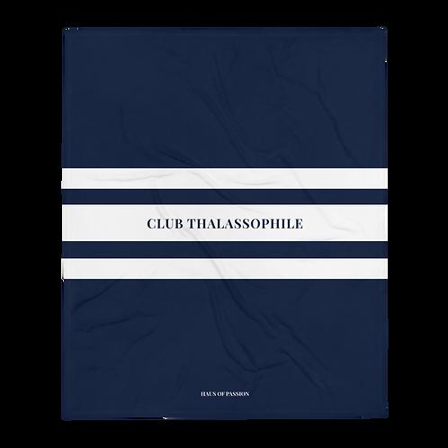 Club Thalassophile Throw Blanket