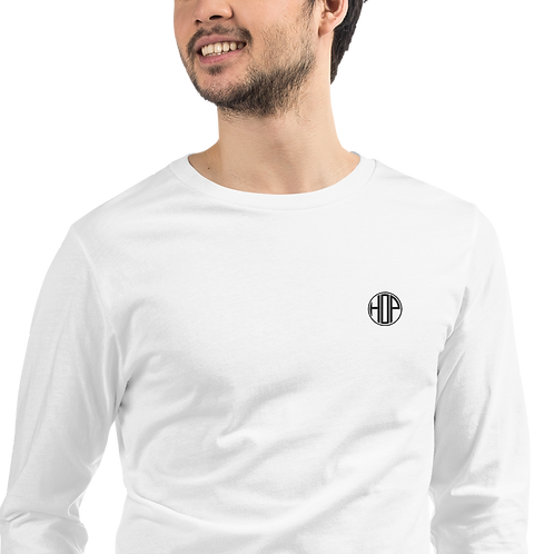 HOP Unisex Longsleeve White