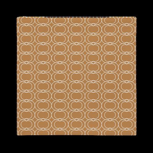 Brownish/White Rings Premium Pillow Case