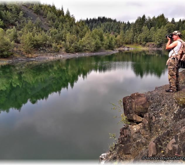 Der See bietet viele wunderschöne Fotomotive