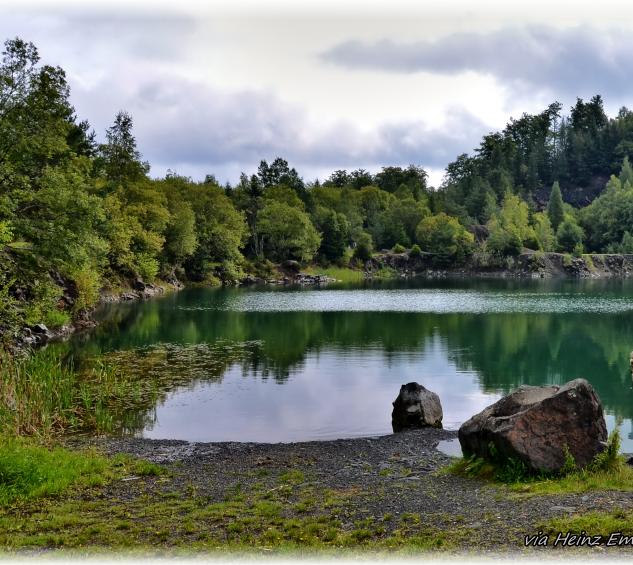 Der Silbersee bei Kleingladenbach