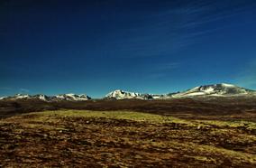 Grandiose Landschaften im Dovrefjell
