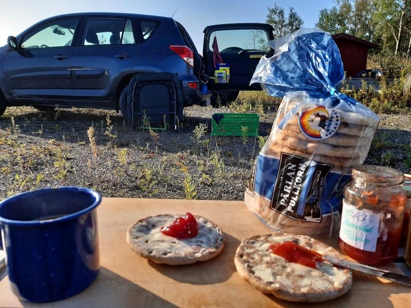 Frühstück am Vänern