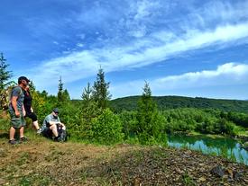 Silbersee Tour - zwischen Dickkopffalter und Froschregen