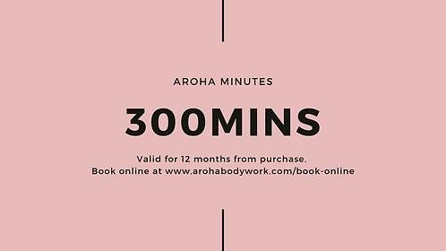 Aroha Minutes - 300min Package
