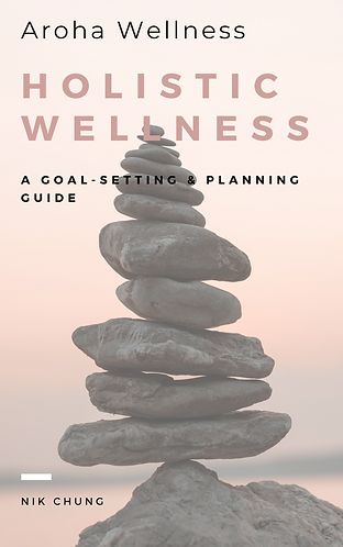 Holistic Wellness Goal Setting & Planning E-Book