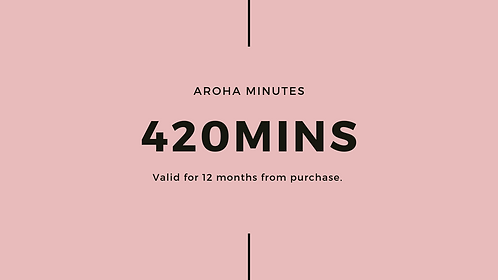420min Aroha Bodywork Treatment Pack