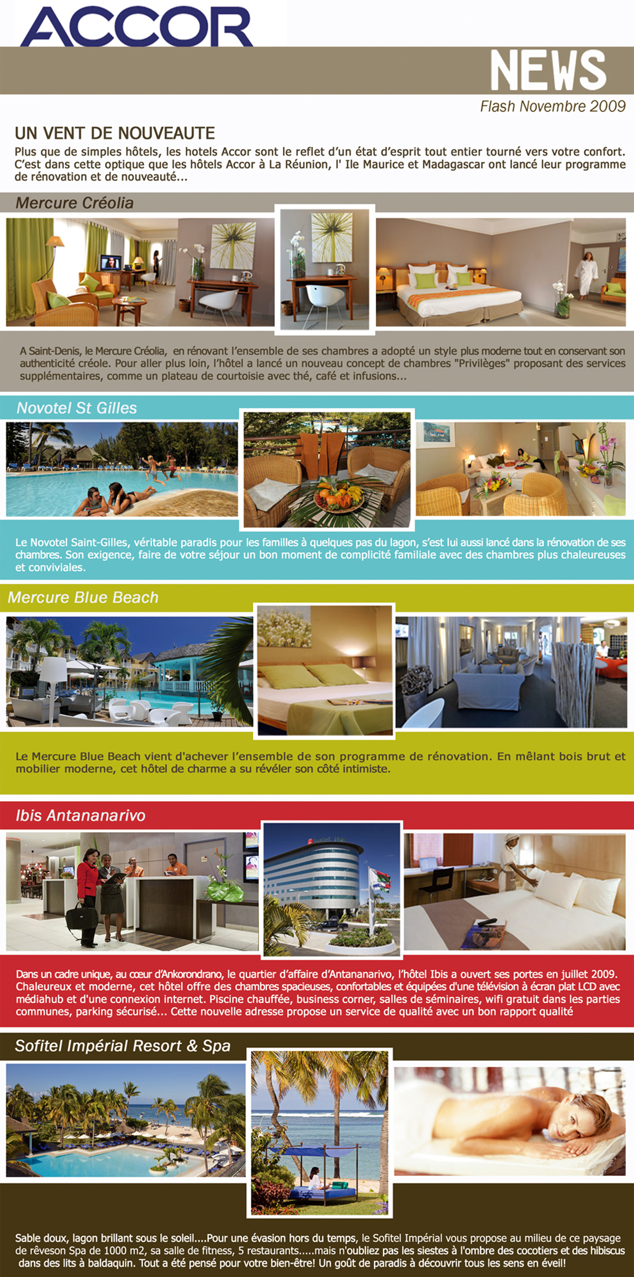 Accor News nov 2009