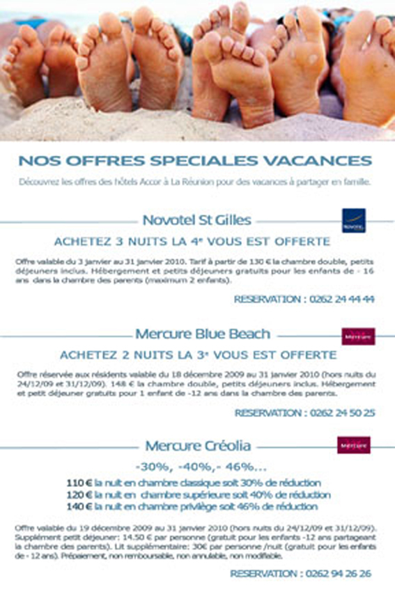 Emailing offre vacances