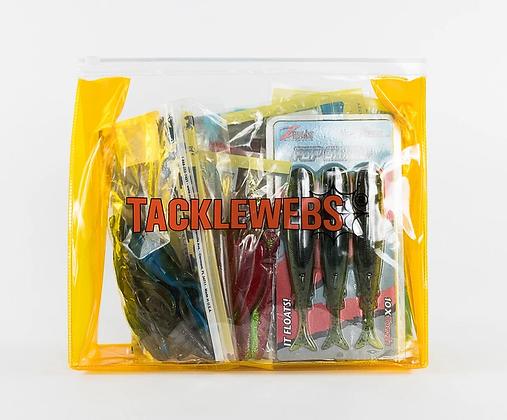 """TACKLEWEBS 10"""" X 9"""" DRY LINER ZIP BAGS"""