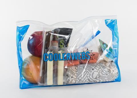 """COOLERWEBS 14"""" X 9"""" DRY LINER ZIP BAGS"""