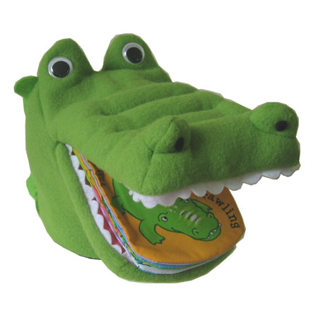 CROCODILE PUPPET BOOK