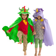 Dragon and Unicorn Cloaks