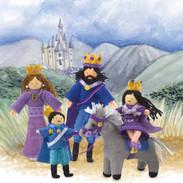 Half Penny Dolls: Royal Family
