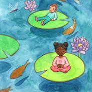 Peaceful Lilypads