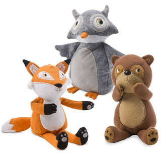 Forest Friends Plush Toys