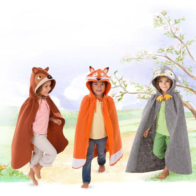 Forest Friends Cloaks